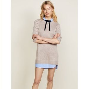 Combo shirt dress
